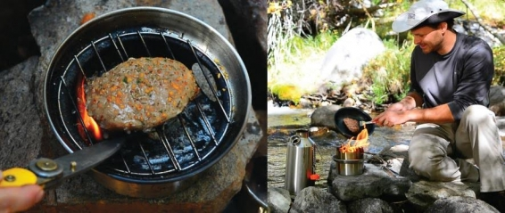 Hobo Stove comes with Kelly Kettle Ultimate Kit