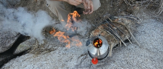 How does the Kelly Kettle Work