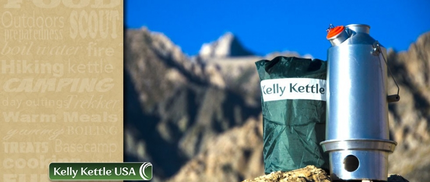 Kelly Kettle Camping Kettle and backpacking gear