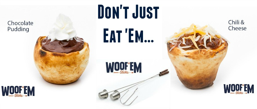 Camping Desserts made easy with Woof 'Ems